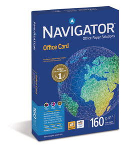 PAQUETE FOLIOS A3 NAVIGATOR OFFICE CARD 160 gr