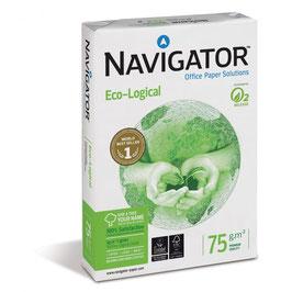 PAQUETE FOLIOS A4 NAVIGATOR ECOLOGICAL 75 gr