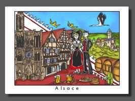 "Carte ""Alsace"""
