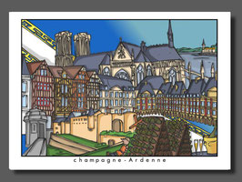 "Carte ""Champagne Ardenne"""