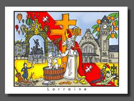 """Carte """"Lorraine"""""""