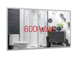 PowerSun Mirror LED Spiegelheizung mit Rahmen