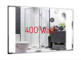 PowerSun Mirror LED Spiegelheizung rahmenlos