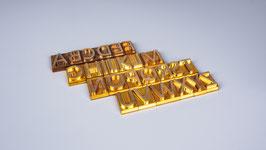 Brennstempel Buchstaben A-Z