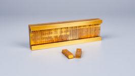 Brennplatte für auswechselbaren Brennstempel