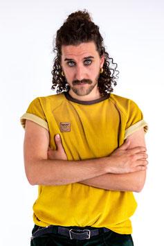 Organic Cord Nicki Bio Shirt senf