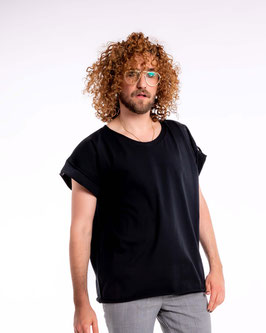 Bio oversize Shirt black