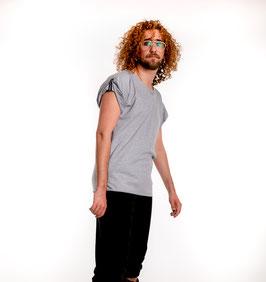 Bio oversize Shirt grey