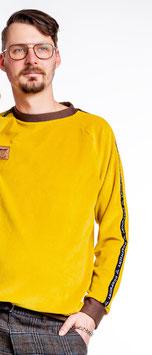 Dörpwicht Pullover Organic Cord Nicki senfgelb