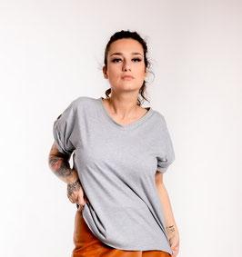 Bio oversize Shirt grey one size