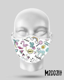 Mascarilla higiénica reutilizable 217