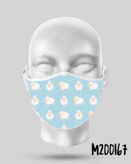 Mascarilla higiénica reutilizable 167