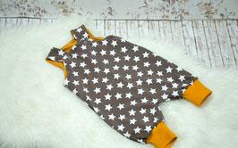 Latzhose Sommerhose Overall Sterne Gr 80