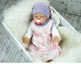 Babykleid Kleid Sommerkleid mit Kopftuch