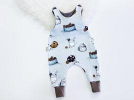 Babystrampler Milk and Cookie