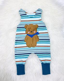 Babystrampler, Bär, Streifen