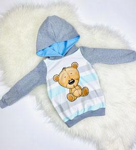 Hoodie Kapuzenpulli Pullover Bär
