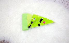 Kopftuch, Katze, grün KU 40-44