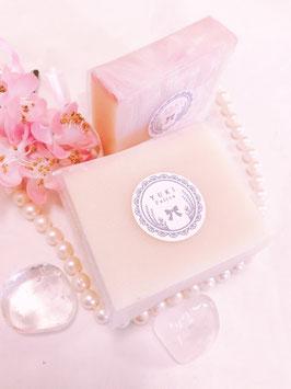 【残り2点】〈1700円➡1600円〉純正生クリーム石けん~桜~