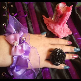 Bracelet Lolita Violet Clochette