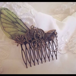 Barrette Peigne Dragon