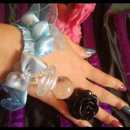Bracelet Bleu Tétine
