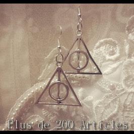 Boucles d'oreille Harry Potter