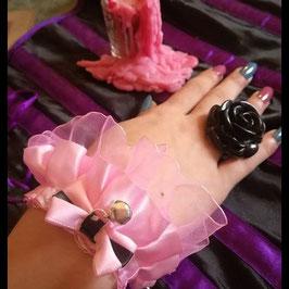 Bracelet Lolita Rose Clochette