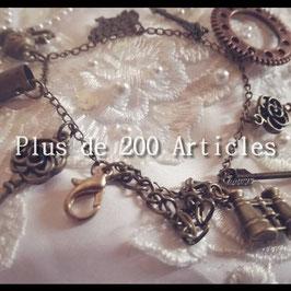 Bracelet Breloque Steampunk