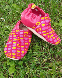 Chaussons Souples Rose