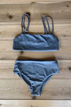 eit swim  ♻W Strap Bikini  Grayish Blue
