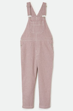 BRIXTON WOMEN  CHRISTINA CROP OVERALL - COWHIDE