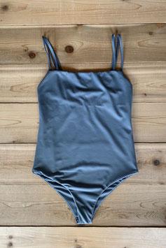 eit swim  ♻W Strap One-Piece Grayish Blue