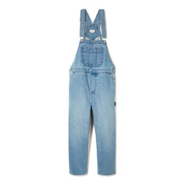 BRIXTON WOMEN  CHRISTINA CROP OVERALL - FADED INDIGO
