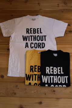 YELLOW REBEL WITHOUT A CODE TEE