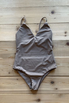 eit swim  ♻Triangle One-Piece Grayish