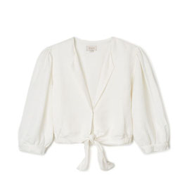 BRIXTON WOMEN EDEN TOP - WHITE