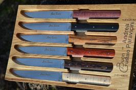 Coffret couteaux de table « BG » - Panaché