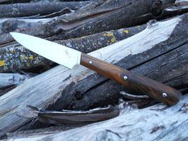 Couteau d'office – Gaïac (3 rivets molletonnés – finition arrondie)