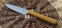 Couteau d'office – oranger des osages (1 rivet molletonné - finition arrondie)