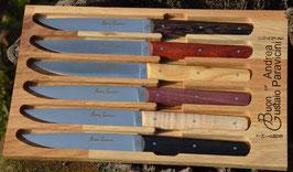 Coffret de 6 couteaux « BG »
