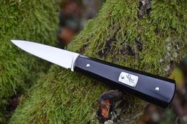 Couteau à  huîtres - micarta noir