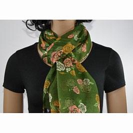 foulard dame aux roses