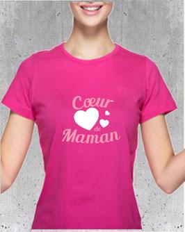 Tee-shirt coeur de maman