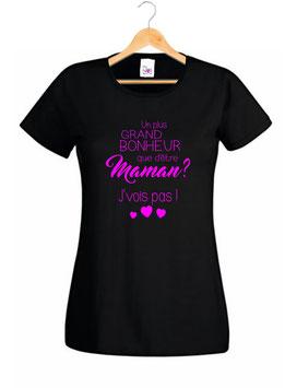 Tee-shirt bonheur de maman