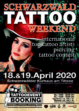 Booth Booking- Schwarzwald Tattoo Weekend