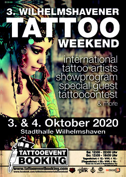 Booth Booking- 3. Wilhelmshavener Tattoo Weekend