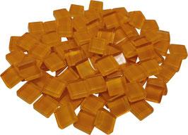 Soft Glas orange 10x10mm