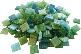 10x10 Mosaik grünmix