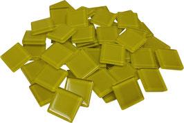 Soft Glas gelb 20x20mm